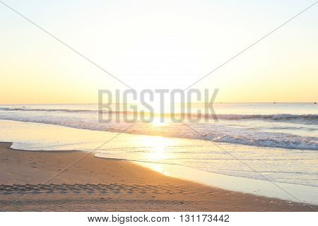 sun rise at the Myrtle Beach South Carolina
