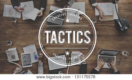Tactics Strategy Planning Tactical Organization Concept