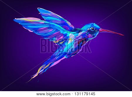 The set of exotic birds isolated on white background. The head of toucan. Retro design graphic element. This is illustration ideal for a mascot and tattoo or T-shirt graphic. Stock illustration