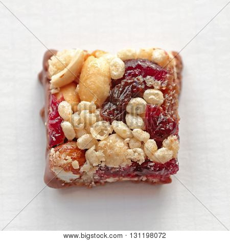 Small Square Bite Size Healthy Protein Bar