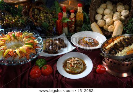 Gourmet Food Layout