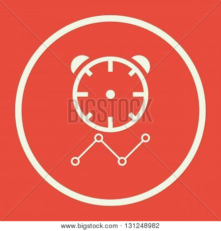 Project Deadline Icon In Vector Format. Premium Quality Project Deadline Symbol. Web Graphic Project