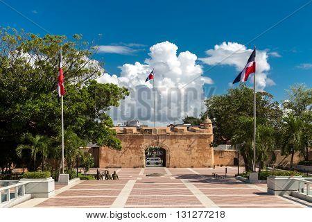 Independence Park in Santo Domingo, Dominican Republic