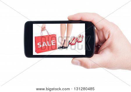 Sale Concept For Women Footware