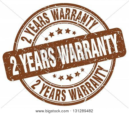 2 years warranty brown grunge round vintage rubber stamp.2 years warranty stamp.2 years warranty round stamp.2 years warranty grunge stamp.2 years warranty.2 years warranty vintage stamp. poster