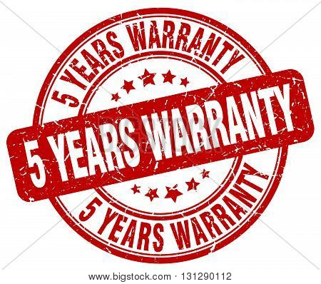 5 years warranty red grunge round vintage rubber stamp.5 years warranty stamp.5 years warranty round stamp.5 years warranty grunge stamp.5 years warranty.5 years warranty vintage stamp.
