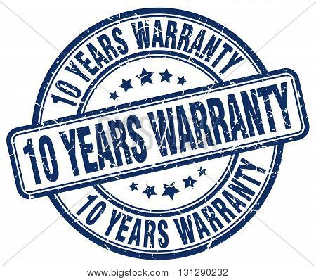 10 years warranty blue grunge round vintage rubber stamp.10 years warranty stamp.10 years warranty round stamp.10 years warranty grunge stamp.10 years warranty.10 years warranty vintage stamp.