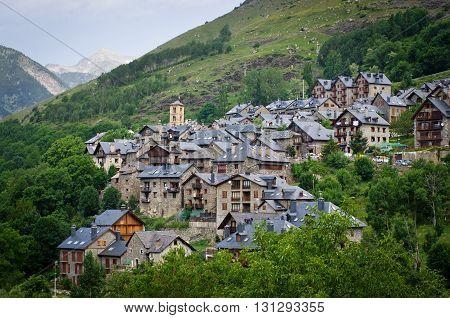 Taull, Vall De Boi,  Alta Ribagorca. Lleida, Catalonia, Spain,