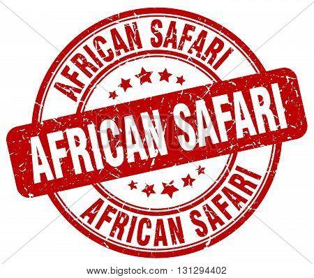 african safari red grunge round vintage rubber stamp.african safari stamp.african safari round stamp.african safari grunge stamp.african safari.african safari vintage stamp.