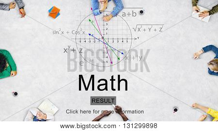 Math Mathematic Education Knowledge School Concept