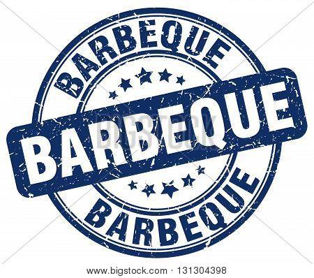 barbeque blue grunge round vintage rubber stamp.barbeque stamp.barbeque round stamp.barbeque grunge stamp.barbeque.barbeque vintage stamp.