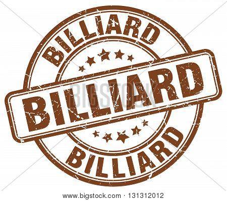 billiard brown grunge round vintage rubber stamp.billiard stamp.billiard round stamp.billiard grunge stamp.billiard.billiard vintage stamp.