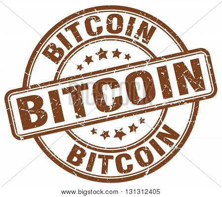 bitcoin brown grunge round vintage rubber stamp.bitcoin stamp.bitcoin round stamp.bitcoin grunge stamp.bitcoin.bitcoin vintage stamp.