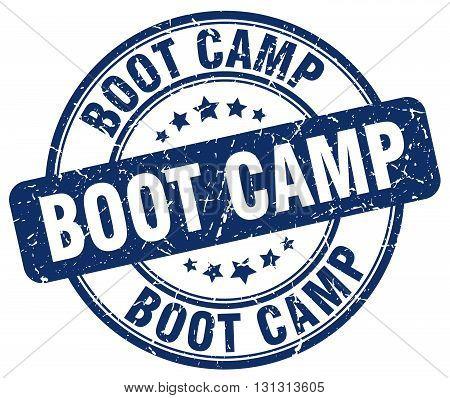 boot camp blue grunge round vintage rubber stamp.boot camp stamp.boot camp round stamp.boot camp grunge stamp.boot camp.boot camp vintage stamp.
