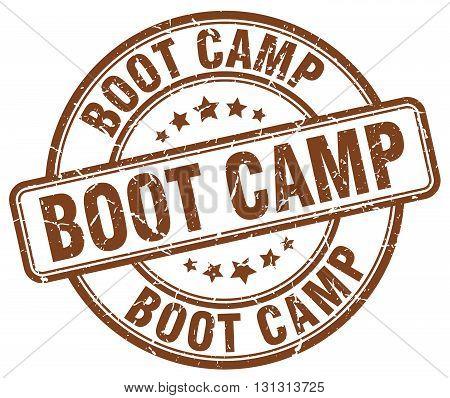 boot camp brown grunge round vintage rubber stamp.boot camp stamp.boot camp round stamp.boot camp grunge stamp.boot camp.boot camp vintage stamp.