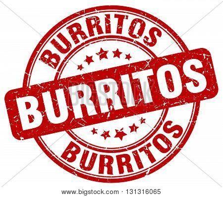 burritos red grunge round vintage rubber stamp.burritos stamp.burritos round stamp.burritos grunge stamp.burritos.burritos vintage stamp.