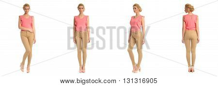 Full Length Portrait Of Beautiful Teen In Breeches
