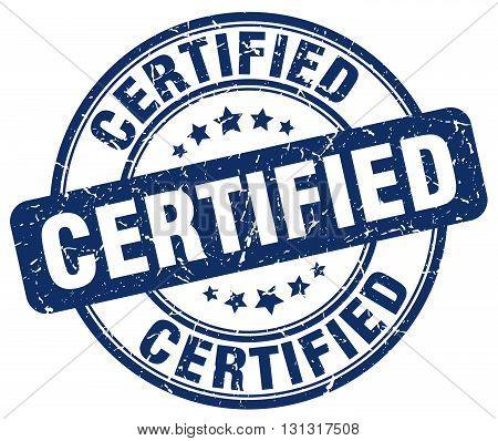 certified blue grunge round vintage rubber stamp.certified stamp.certified round stamp.certified grunge stamp.certified.certified vintage stamp.