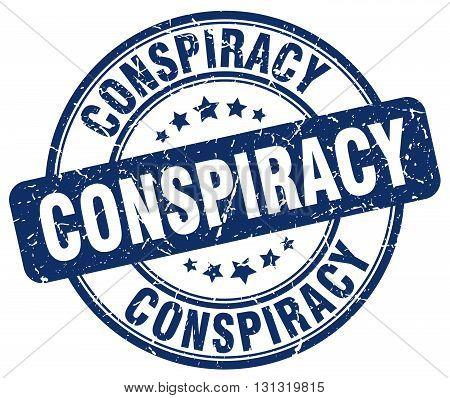conspiracy blue grunge round vintage rubber stamp.conspiracy stamp.conspiracy round stamp.conspiracy grunge stamp.conspiracy.conspiracy vintage stamp.