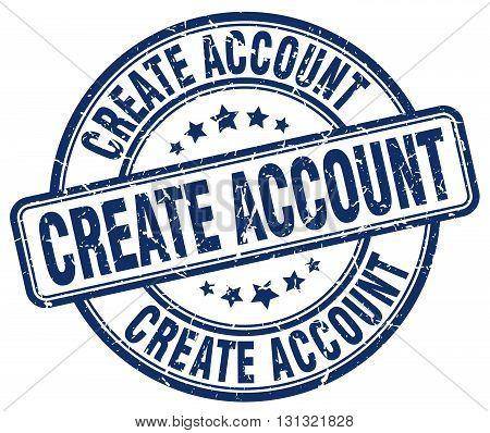 create account blue grunge round vintage rubber stamp.create account stamp.create account round stamp.create account grunge stamp.create account.create account vintage stamp.