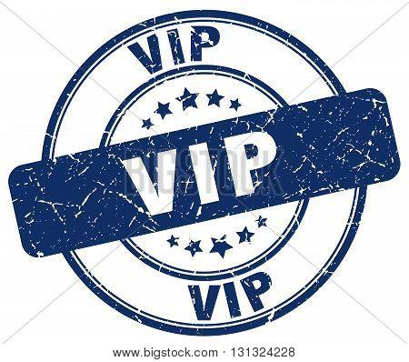 Vip Blue Grunge Round Vintage Rubber Stamp.vip Stamp.vip Round Stamp.vip Grunge Stamp.vip.vip Vintag