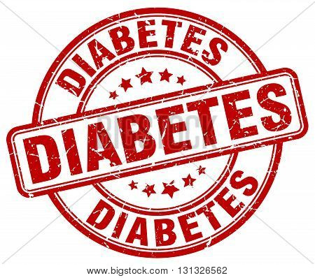 diabetes red grunge round vintage rubber stamp.diabetes stamp.diabetes round stamp.diabetes grunge stamp.diabetes.diabetes vintage stamp.