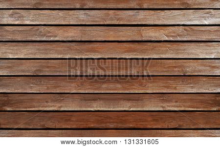 Stock Photo - Wooden wall texture with horizontal boards