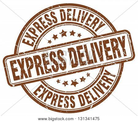express delivery brown grunge round vintage rubber stamp.express delivery stamp.express delivery round stamp.express delivery grunge stamp.express delivery.express delivery vintage stamp.