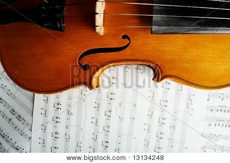 Musical background â?? instruments. Shot in studio.
