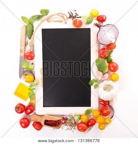 raw food,recipe concept