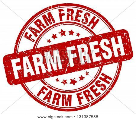 farm fresh red grunge round vintage rubber stamp.farm fresh stamp.farm fresh round stamp.farm fresh grunge stamp.farm fresh.farm fresh vintage stamp.