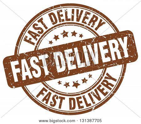 fast delivery brown grunge round vintage rubber stamp.fast delivery stamp.fast delivery round stamp.fast delivery grunge stamp.fast delivery.fast delivery vintage stamp.