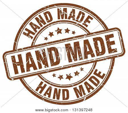 hand made brown grunge round vintage rubber stamp.hand made stamp.hand made round stamp.hand made grunge stamp.hand made.hand made vintage stamp.