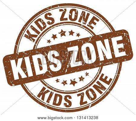 kids zone brown grunge round vintage rubber stamp.kids zone stamp.kids zone round stamp.kids zone grunge stamp.kids zone.kids zone vintage stamp.