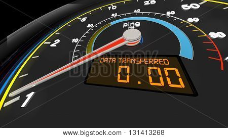 Internet Bandwidth Download Upload Speed Meter