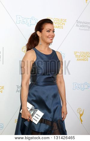 LOS ANGELES - MAY 25:  Bellamy Young at the 37th College Television Awards at Skirball Cultural Center on May 25, 2016 in Los Angeles, CA
