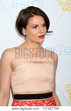 LOS ANGELES - MAY 25:  Lana Parrilla at the 37th College Television Awards at Skirball Cultural Center on May 25, 2016 in Los Angeles, CA