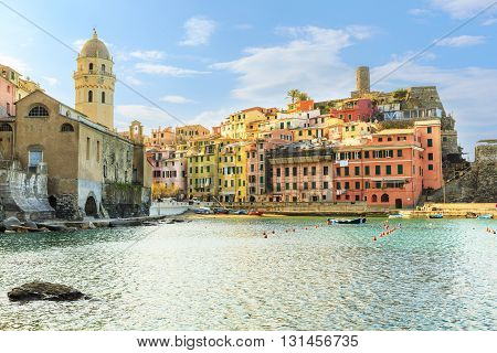 Vernazza  is a town and comune located in the province of La Spezia, Liguria, northwestern Italy. It is one of the five towns that make up the Cinque Terre region