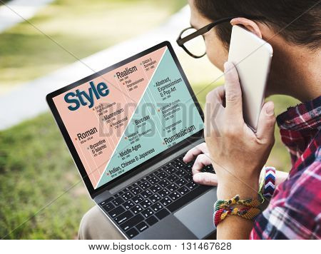 Style Trending Modern Latest Design Fashionable Chic Cool Concept