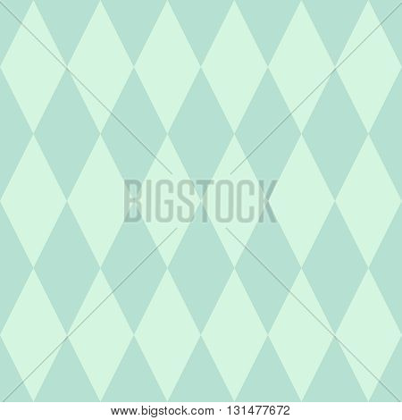 Tile vector pattern or mint green wallpaper background