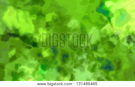 watercolor background in green color and grungy look.