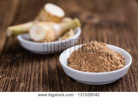 Portion Of Galangal Powder