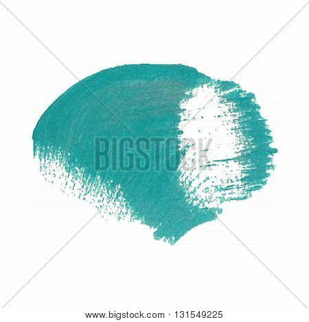 Color smear vector brush stroke. Varnish splash line trace. Abstract shape oil acrylic paint. poster
