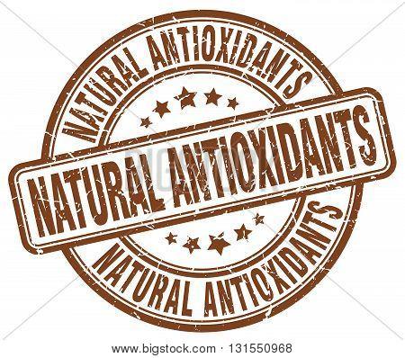 natural antioxidants brown grunge round vintage rubber stamp.natural antioxidants stamp.natural antioxidants round stamp.natural antioxidants grunge stamp.natural antioxidants.natural antioxidants vintage stamp.