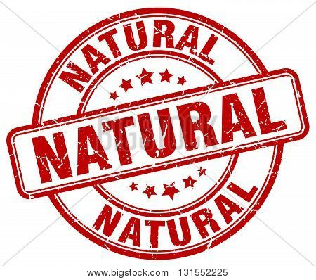 natural red grunge round vintage rubber stamp.natural stamp.natural round stamp.natural grunge stamp.natural.natural vintage stamp.