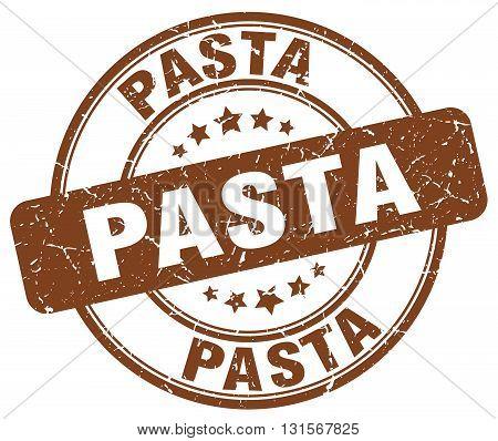 pasta brown grunge round vintage rubber stamp.pasta stamp.pasta round stamp.pasta grunge stamp.pasta.pasta vintage stamp.