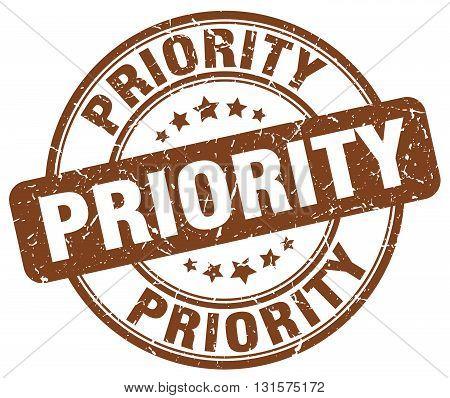 priority brown grunge round vintage rubber stamp.priority stamp.priority round stamp.priority grunge stamp.priority.priority vintage stamp.
