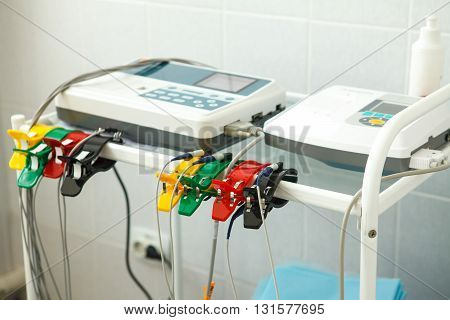 The Unit Of Measurement Of The Electrocardiogram In A Doctor's Office