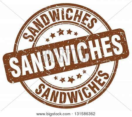 sandwiches brown grunge round vintage rubber stamp.sandwiches stamp.sandwiches round stamp.sandwiches grunge stamp.sandwiches.sandwiches vintage stamp.