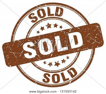 sold brown grunge round vintage rubber stamp.sold stamp.sold round stamp.sold grunge stamp.sold.sold vintage stamp.